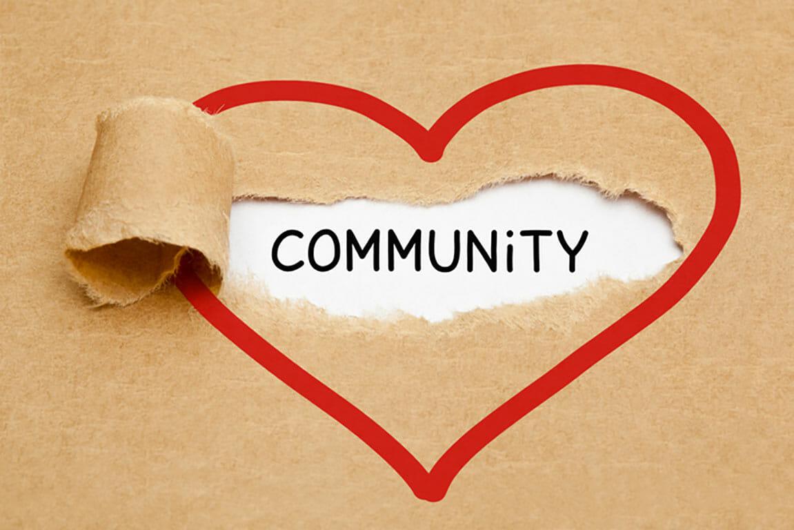 Community heart symbol